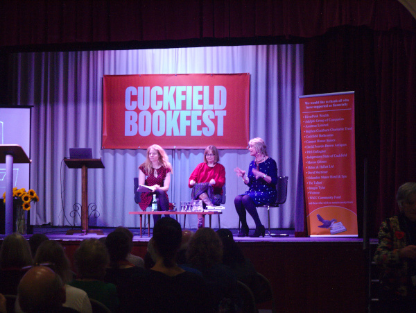 Lucy Mangan and Sally Bayley talking to Sue Cook