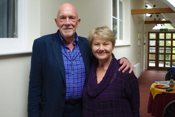 Hugh Ross and Annette Badland