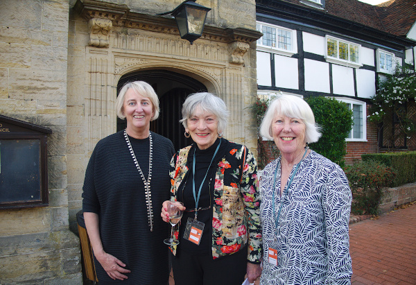The Organisers: Sue Lain, Sheila Mortimer and Sheila Chasser
