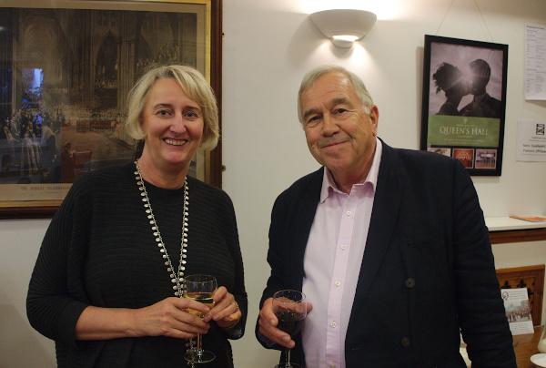 Sue Laing and Simon Brett