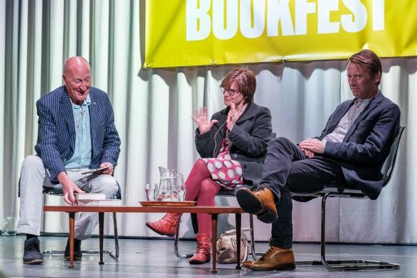 Peter Guttridge, D.J. Taylor and Rachel Hore