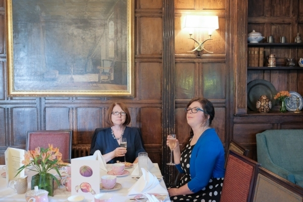 Afternoon tea at Ockenden Manor