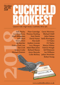 Cuckfield Bookfest 2018