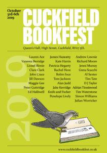 Cuckfield Bookfest 2019