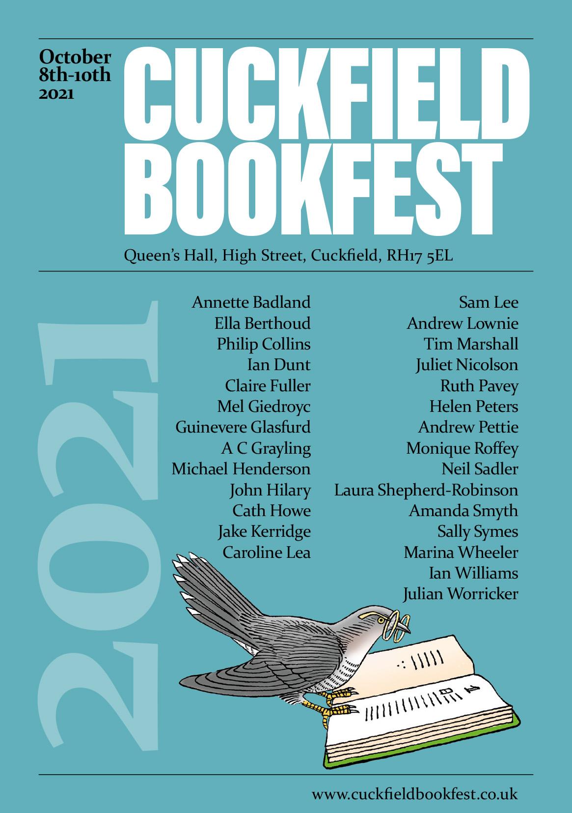 Cuckfield Book Festival 2021